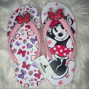 Disney Parks Minnie Mouse Flip Flop Sandals
